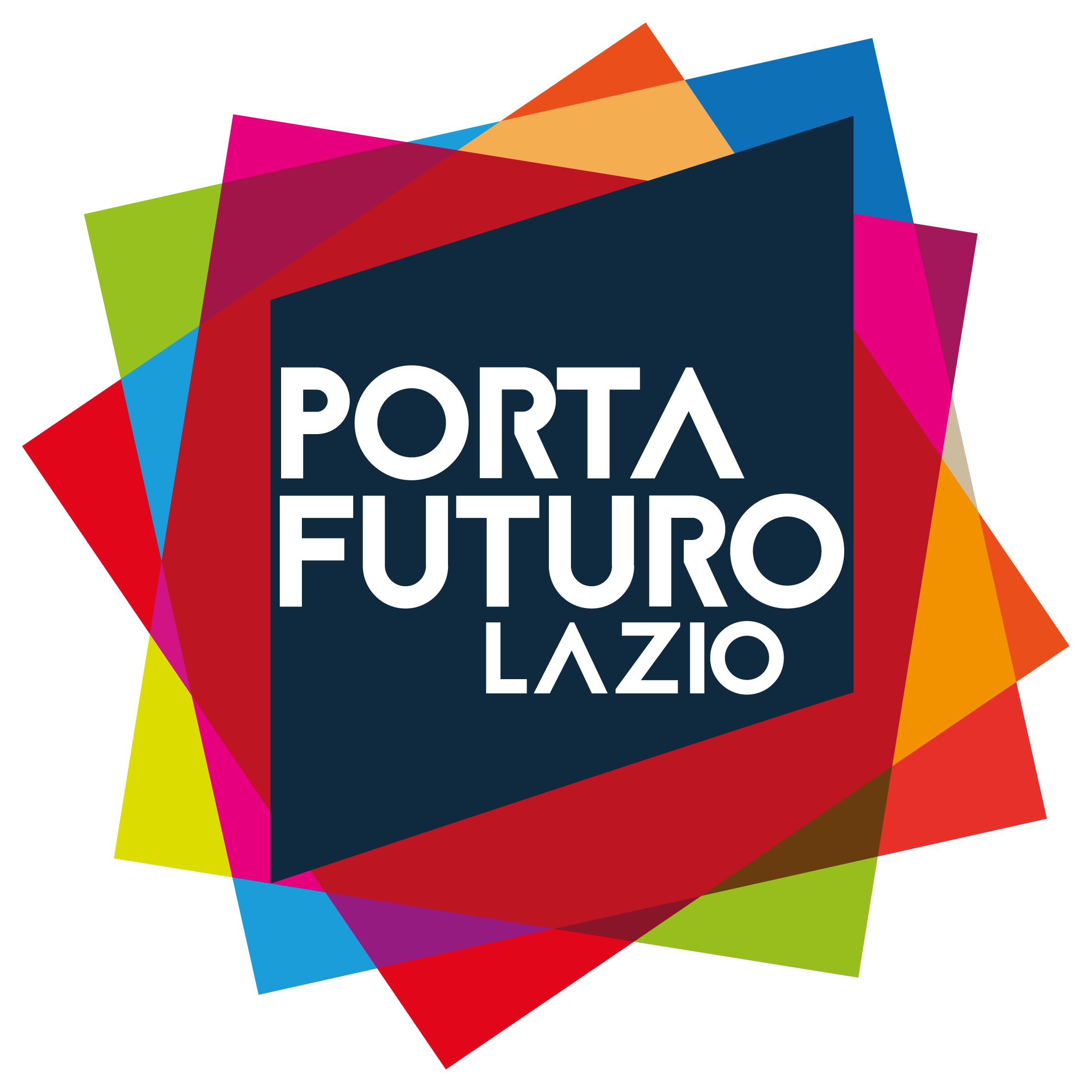 Logo PORTA FUTURO Lazio